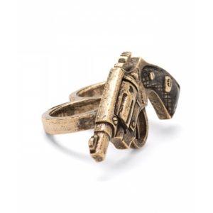 BETSEY JOHNSON Two-Finger Ring