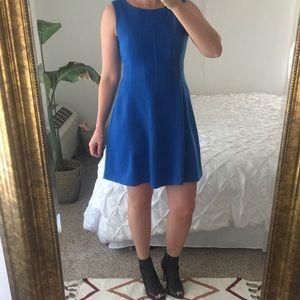 Just Taylor Dresses & Skirts - Flared Blue Dress