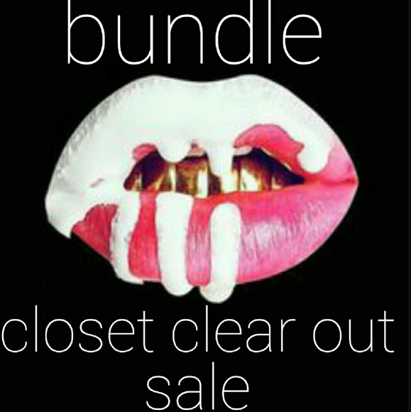 2606064bb2c38 Closet clear out sale bundle. M_582923407f0a05dd360960f0