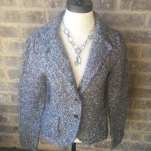 Kersh sweater blazer jacket