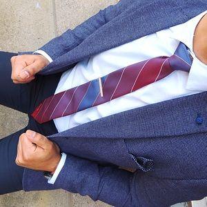 2xHP! Oscar De La Renta Tie - Slim