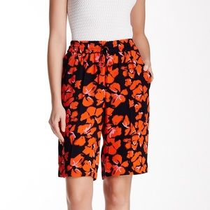 A.L.C. Pants - NWT [A.L.C.] Midnight Orange Silk Baxter Short - 0