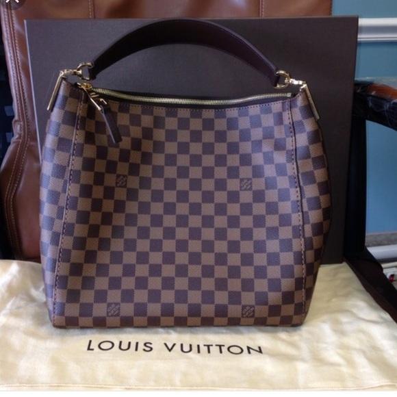 46827750b1a6 Louis Vuitton Handbags - Louis Vuitton Portobello GM Damier