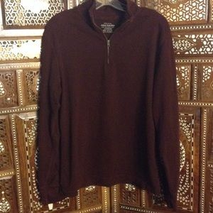 "J. Crew Other - Men's quarter-zip cotton knit pullover ""sweater"""