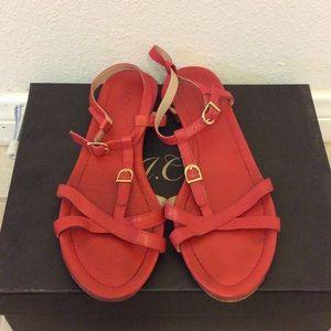 J. Crew Shoes - J.Crew Leather Sandals Size 8.5