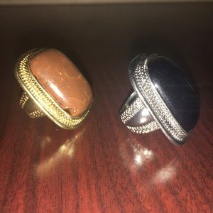 Two statement rings