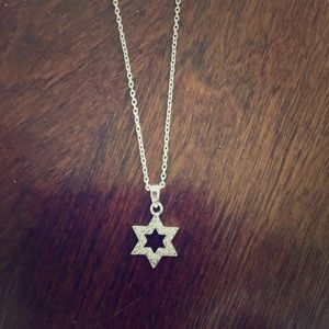 Magnolia Jewelry - 925 Sterling silver Star of David necklace