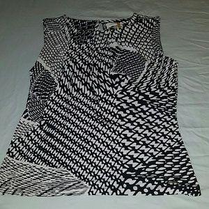 Black and white Calvin Klein Blouse