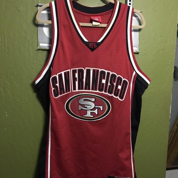 4f99b355659d Vintage 49ers basketball jersey. M 58293cf87fab3a49d40a0033
