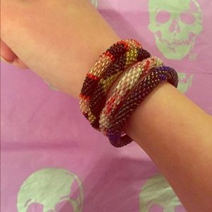 Lilly & Laura  Jewelry - Lilly & Laura Glass Bead Bracelets