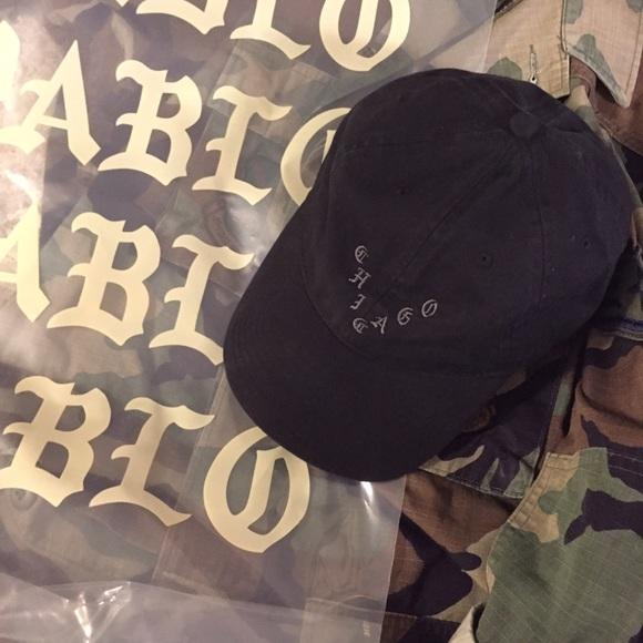 KANYE WEST PABLO - Pop Up Shop - CHICAGO Dad Hat. M 58294443f0928275fb1067bf c8780a5040e5