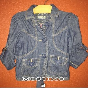 Mossimo Jean Short Light Jacket Small 5/6