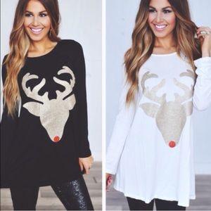 wear in la Dresses & Skirts - 2 LEFT! Reindeer dress black gold Christmas