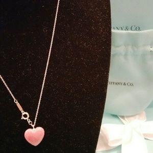 Tiffany & Co. Jewelry - Tiffany & Co. Rhodonite Heart Necklace