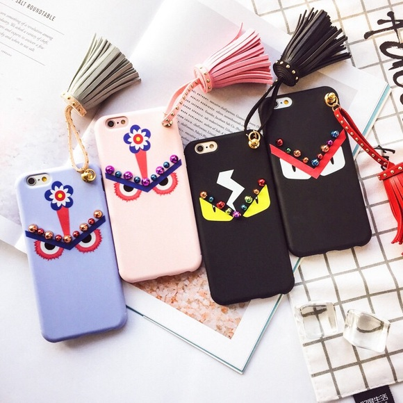 cheap for discount 177d5 d6003 iPhone 7 plus fendi monster style phone case