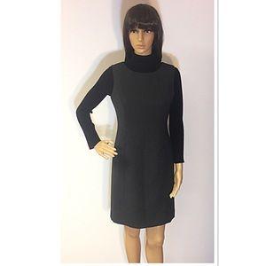 Petite Sophisticate Dresses & Skirts - PETITE SOPHISTICATE CHARCOAL GRAY JUMPER/DRESS