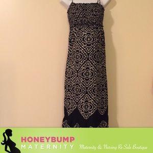 Motherhood Maternity Dresses & Skirts - Maternity maxi dress size medium