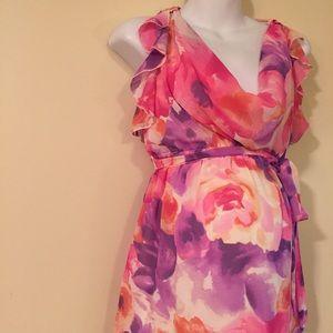 Flowy maternity dress size medium