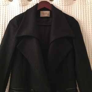 SALELike new black pea coat