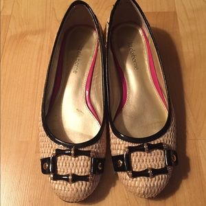 Liz Claiborne Straw Slip On