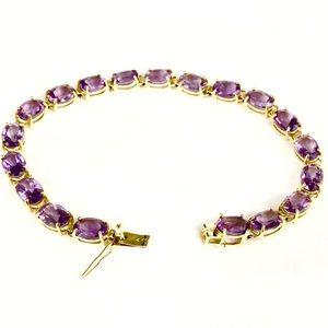 Vintage Jewelry - ⚡️SALE⚡️ 14k Tennis Bracelet 9.2g (15ctw)