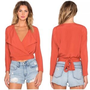 LOVERS FRIENDS BLAZER TIE TOP FLYNN SKYE TULAROSA
