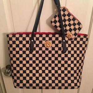 Spartina 449 Handbags - Spartina 449 Shopper Tote & Zippy ID Ellis Square