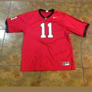 Nike Other - Nike Georgia Bulldogs Mens Short Sleeve Jersey