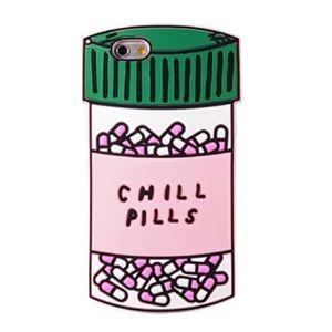 "Accessories - Silicone ""Chill Pill"" iPhone 6 Plus case!"