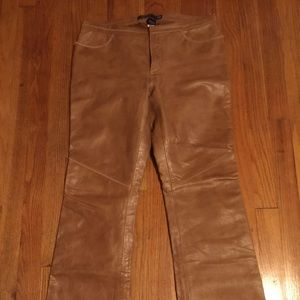 Gap leather Jeans