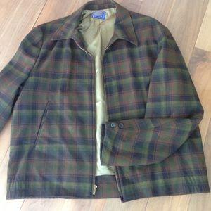 Vintage Men's Pendelton wool jacket plaid, lined