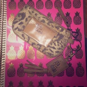 Gigi Hill Handbags - Gia and Dani cheetah print tassel Wristlet