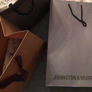 Handbags - Johnston& Murphy bags lot