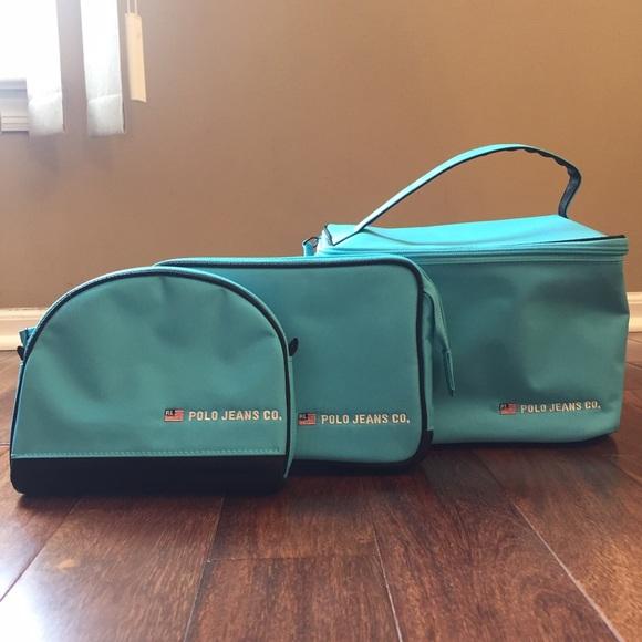 637574751d0c Ralph Lauren 3 pc. Cosmetic bag set. M 582a019b7fab3a78260bf4b3