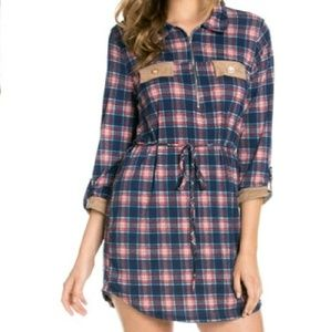 The Blossom Apparel Dresses & Skirts - FLASH SALE! Plaid Shirt Dress/Tunic