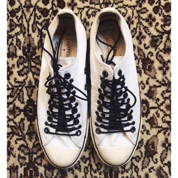 f2da25b4388a Converse Shoes - John Varvatos x Converse Multi Eyelet low tops