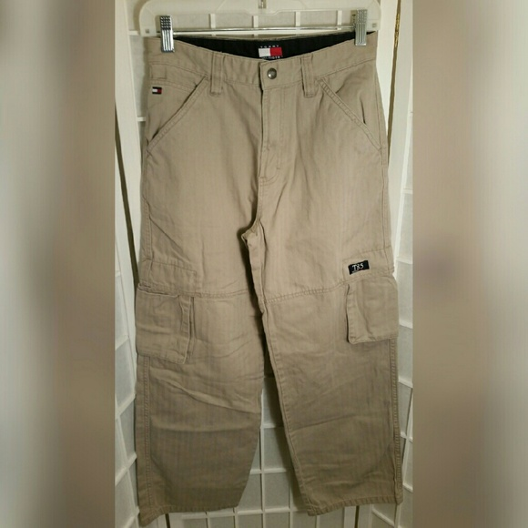 Tommy Hilfiger - Boys Tommy Hilfiger cargo pants 14 from Tracy's ...
