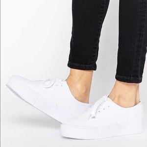 ASOS platform tennis shoes