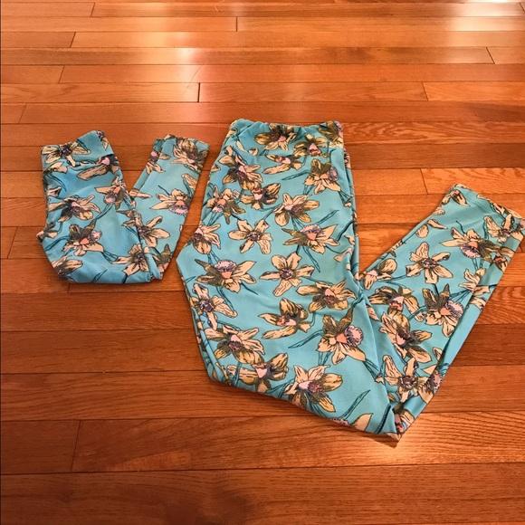 5930ef17031d48 LuLaRoe Pants | New Mommy And Me Leggings Tc And Sm | Poshmark