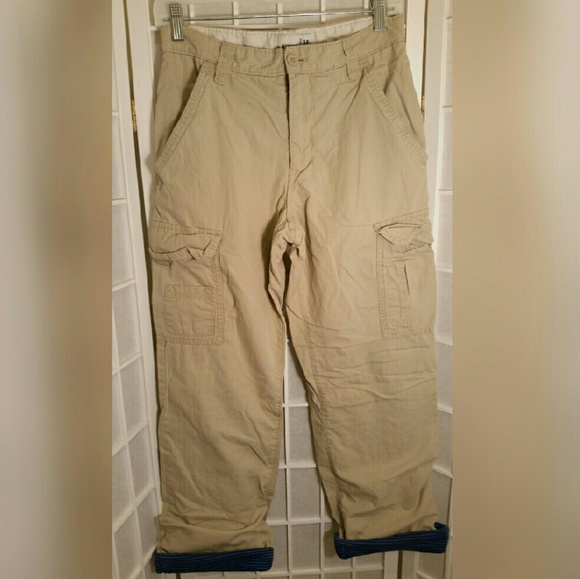 Old navy boys lined insulated cargo pants 16 from tracy for What time does old navy open today