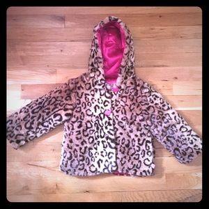 Other - Faux Fur Pea Coat