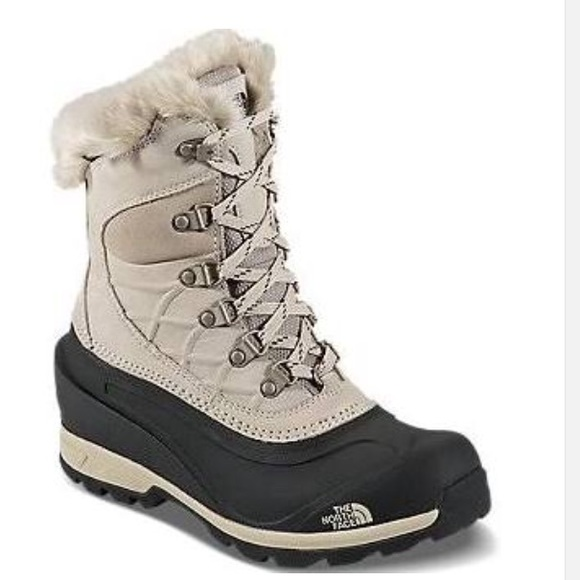cd11340b7 North Face Women's Boots Chilkat 400 Taupe Brown NWT