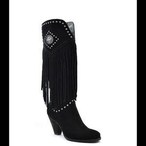 Reba Shoes - Reba Suede Boots 4X Host Pick