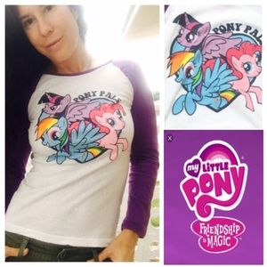 My Little Pony Tops - My little pony t shirt small
