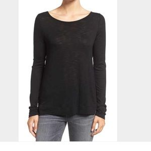 Vince Sweaters - Vince boatneck sweater black