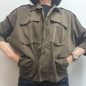 boy. by Band of Outsiders Jackets & Blazers - Band of Outsiders Army Jacket sz S