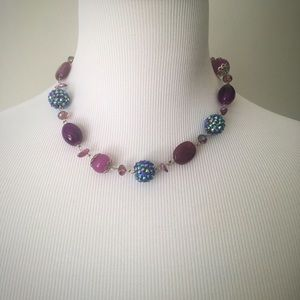 Charming Charlie Jewelry - Charming Charlie Necklace Set in Lilac