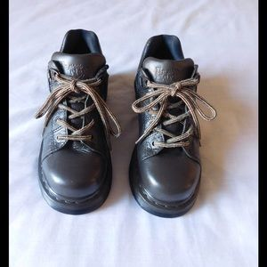 Dr. Martens Shoes - Real Leather! Brown Dr. Martens Booties - Comfort