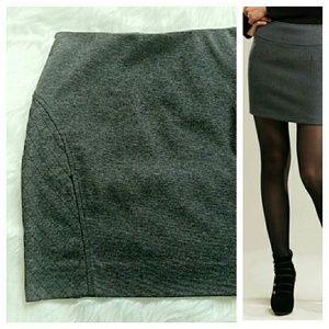 Simply Vera Vera Wang Dresses & Skirts - {Simply Vera} Quilted Ponte Mini Skirt