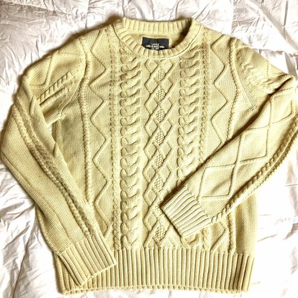 c2acb96e7c0 L.O.G.G. H&M Men's Cable knit Sweater